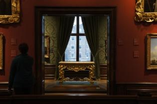 het mauritshuis heet officieel koninklijk kabinet van schilderijen het museum is ontstaan dankzij koning willem 1 die in 1816 de schilderijenverzameling